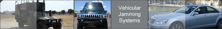 Vehicular RF Jamming Solutions