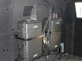Side view of RF Jammer Kit