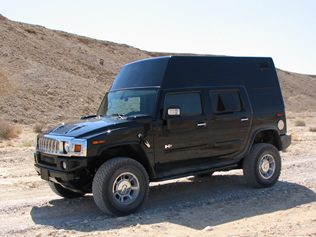 RF Jamming System in Hummer